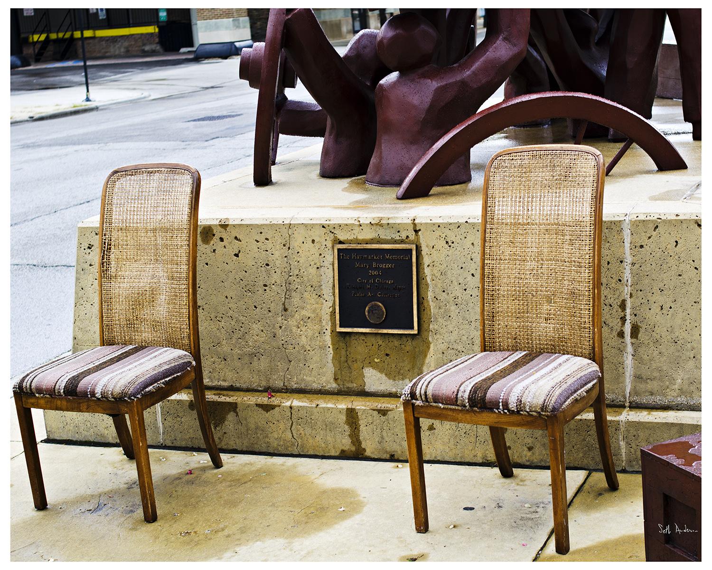 Chairs - Haymarket Riot Memorial