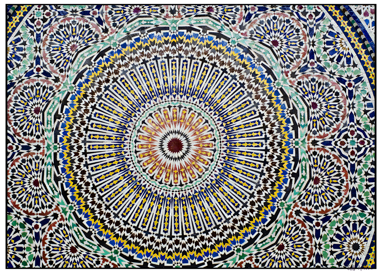 Zellij Garfield Park Conservatory Moroccan Mosiac