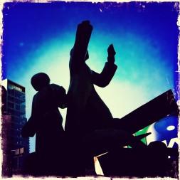 Haymarket Riot Memorial blues
