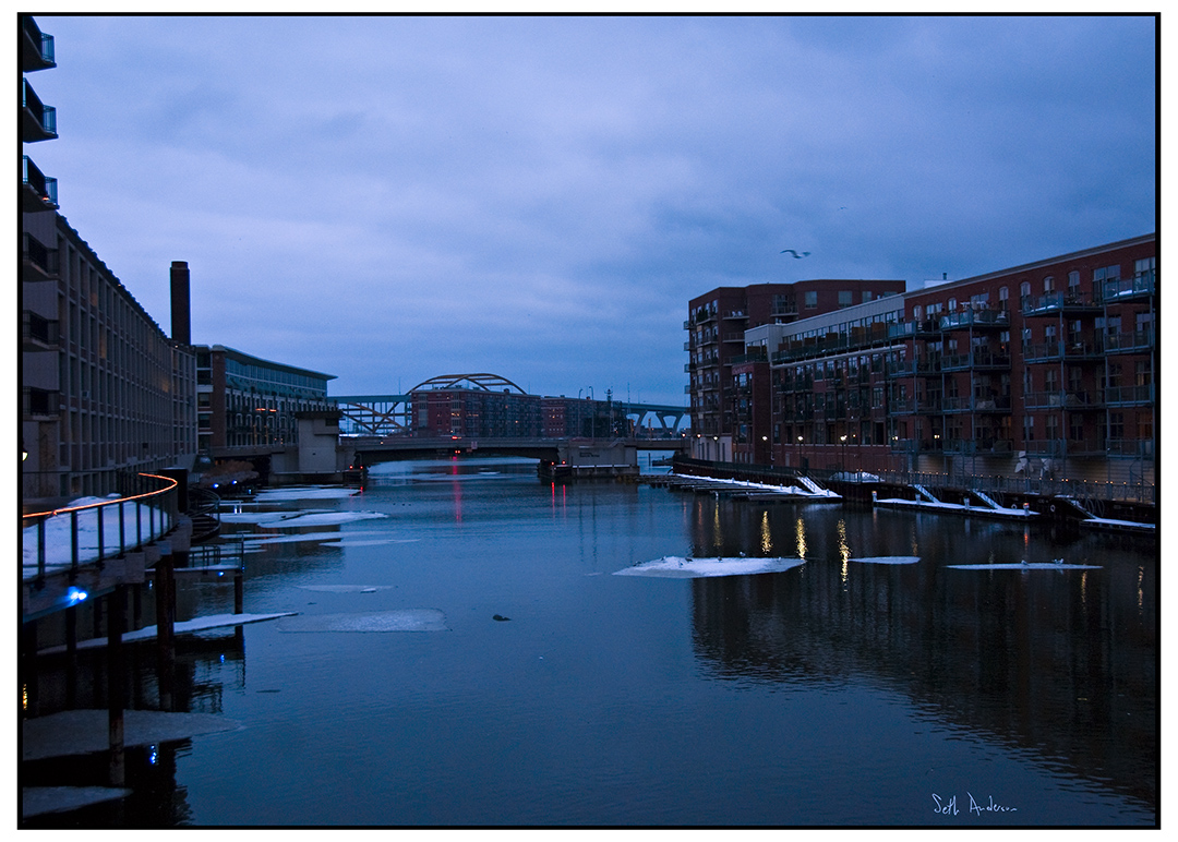 Milwaukee River Blues