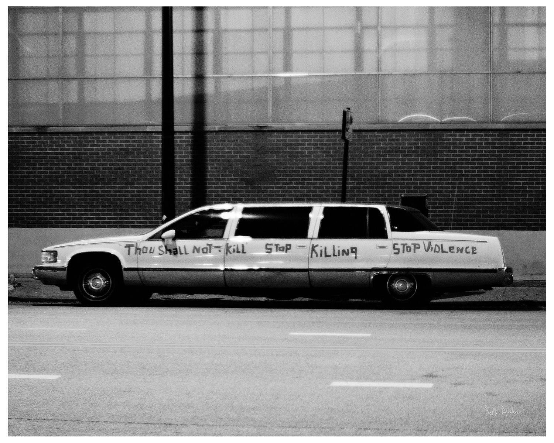 Stop Violence Limousine