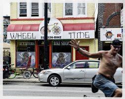 Wheel Time Photobomb